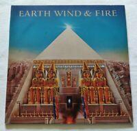 EARTH WIND & FIRE LP ALL 'N ALL 33 GIRI VINYL 1977 ITALIA CBS 82238 NM/NM