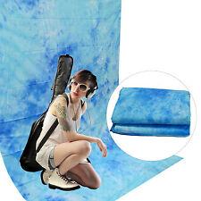 Fondo DynaSun W025 2,8x4mt Dark Blue Algodón 120g/sqm Estudio Fotografico Video