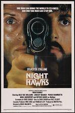 NIGHTHAWKS - 1981 - original 27x41 movie poster - SYLVESTER STALLONE, R.HAUER