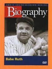 Babe Ruth A&E Biography New DVD Boston Red Sox New York Yankees Baseball MLB TV