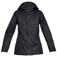 UNDER ARMOUR Women's NAVIGATE Snow Jacket - XSmall - Black - NWT  LAST ONE LEFT