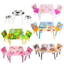 Kindersitzgruppe Kindertisch Kinderstuhl Kindermöbel Tisch Stuhl Homestyle4u