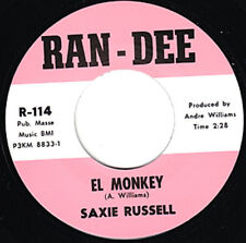 "Saxie Russell El Mono RE. 7"" 45 rpm PICADORA 1963 Mad Mike porno Coctelera R&B escuchar"