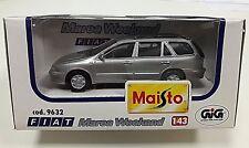 Fiat Marea weekend station wagon familiare 1/43 Maisto Art 9632 grigio met M BOX