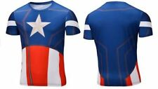 Polyester Unbranded Captain America T-Shirts for Men