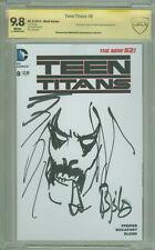 Teen Titans #8 CBCS 9.8 Original Lobo Art by Simon Bisley Original Series Aritst