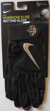 Nike Men's Huarache Elite Batting Gloves Color Black/Chrome Size L New
