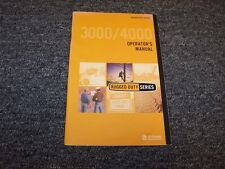 Allison Rugged Duty 3000 3500 4000 4500 4700 RDS Series Owner Operator Manual