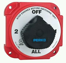 Perko 8603DP Heavy Duty Battery Selector Switch w/Alternator Field Disconnect