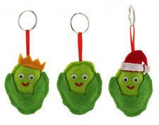 Christmas Sprout Keyring - Cracker Filler Gift | Cracker Fillers & Gifts