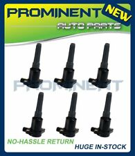 Pack of 6 New Ignition Coils For Jaguar Vanden Plas XJ6 XJR XJS UF384 LHE1510AB