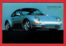 Car Postcard ~ Porsche Carrera 993: Last AirCooled 911: 1993: Niccolini of Italy