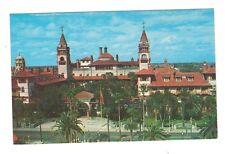 postcard St. Augustine Florida FL