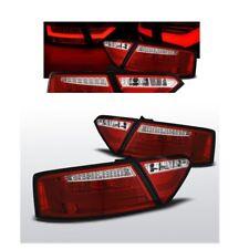 2 FEUX ARRIERE LED BARRE ROUGE ET BLANC AUDI A5 / S5 COUPE DE 03/2007 A 2009