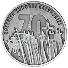 Poland / Polen - 10zl Anniversary of the Katyn Crime