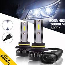 Globe 9005 HB3 Car LED Headlight Bulbs Lamps Kit 110W 20000LM Xenon White 6000K