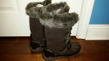 Fashion Winter Women Boots  leather , size 9 ,  12 inches tall, .