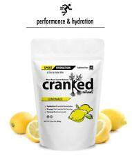 Cranked Naturals Sport Hydration Lemonade Caffeine Free 32 oz / 2 lb 30 servings
