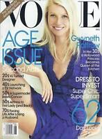 Vogue Magazine Gwyneth Paltrow Chic Fashion Age Issue Alexa Chung Fashion 2010