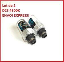 2 x AMPOULES HID LAMPE BULBS XENON D2S 35W 4300K UNIVERSELLES