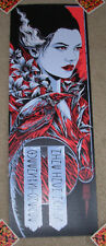 QUEENS OF THE STONE AGE Nine Inch Nails concert gig poster SYDNEY 3-6-14 2014