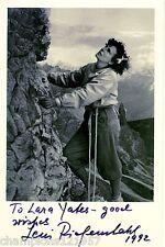Leni Riefenstahl ++Autogramm++ ++Film Legende++
