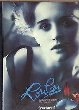 PUBLICITE ADVERTISING  1982   CACHAREL  parfum LOULOU