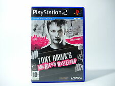 TONY HAWK'S AMERICAN WASTELAND complete w box & manual PS2 Playstation 2 PAL