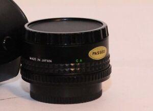 Makinon 2x x2 Converter No.1 Canon AEs FD System Tele Converter w/ Case & caps