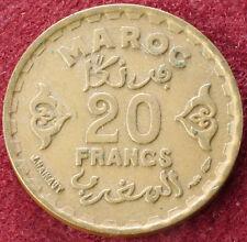 Morocco 20 Francs 1371 (C1209)