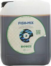 BIOBIZZ ORGANIC FISH MIX GROW NUTRIENTS 5L BIO BIZZ FISHMIX FERTILIZERS HYDRO