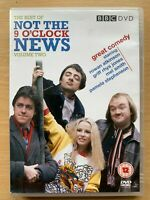 Not the Nine O'Clock News Vol.2 DVD BBC Classic Comedy TV Series 9