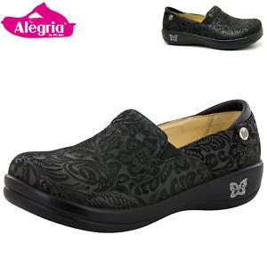 ALEGRIA Kelli Nursing Shoes Slip On Women's Work Working Hospitality - Black