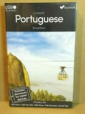 Eurotalk Ultimate Portuguese USB  Five in 1 Language Set REDUCED NEW!!!