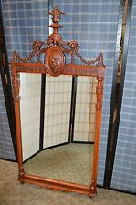 Ornate Victorian Style Wall Mirror
