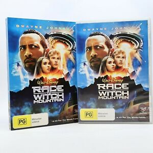 "Race To Witch Mountain Dwayne ""The Rock"" Johnson 2009 DVD R4 GC"