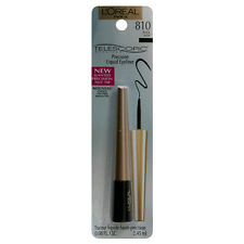 1 X L'Oreal Telescopic Precision Liquid Eyeliner 810 Black + Free Post!
