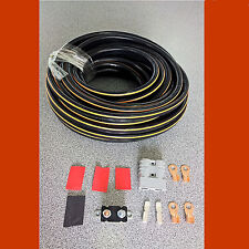 CAMPER TRAILER CARAVAN CHARGING KIT+ 50AMP ANDERSON PLUG 6M 8B&S CABLE 85A rated