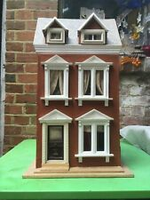 vintage dolls' house, wooden, in need of TLC