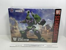 Authentic Flame Toys Transformers Furai Model Kit DEVASTATOR, NEW Sealed!