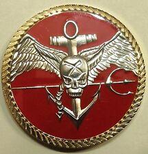 Navy SEAL Team 10, 2 Troop Special Warfare Challenge Coin   Circa 2015