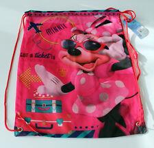 Neu Rucksack Kinder Disney Sporttasche Minnie Mouse pink rosa Polyester 42x33 cm