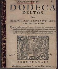 Originale antiquarische Bücher aus Europa von vor 1700 als Erstausgabe