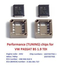 Performance chips for VW PASSAT B5 1.9 TDI AHU engine. (chiptuning) 038906018N.