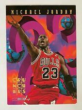 1995-96 Hoops Numbers Crunchers #1 MICHAEL JORDAN SP card! BULLS! HOF!