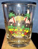 """Hard Party Jamaica"" Shot Glass Hard Rock Cafe Rip-Off"