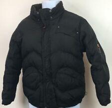 Hawke & Co Youth Large (14/16) Winter Down Jacket Black W/ arm Patch  (B3)