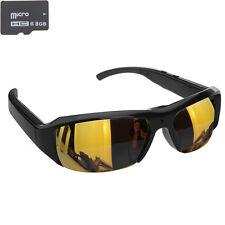 8GB 5MP 720P HD Video SunGlasses Camera Eyewear DVR Camcorder AVI CMOS Recorder