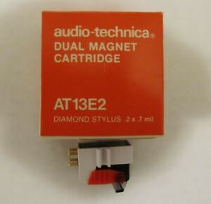 Audio Technica AT13E2 Cartridge and Stylys NIB