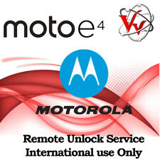 Remote SIM Unlock Service Moto E4 XT1766 XT1776 PLUS Sprint Boost  outside USA